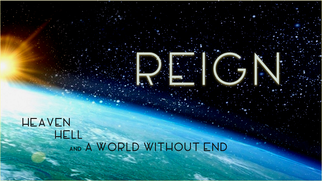 Reign title for web
